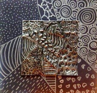 copper repousse    middle school south art room
