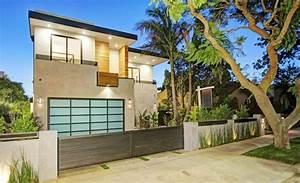 Cloture Maison Moderne : cl tures jardin et portillons pour ext rieurs modernes ~ Melissatoandfro.com Idées de Décoration