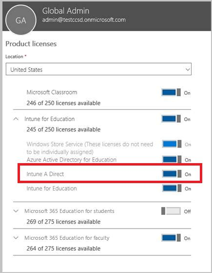 intune assign licenses microsoft license docs sync overview learn assigned