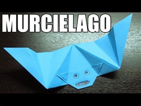 Animales de papel | Como hacer un murcielago de papel paso a paso en origami (Muy facil) - YouTube
