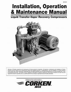Installation  Operation  U0026 Maintenance Manual  Iom