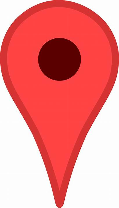 Map Maps Google Location Clipart Vector Pins