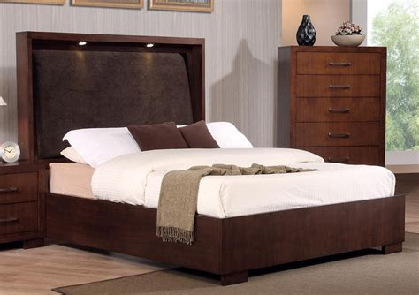 Bedroom Stunning Curved Padded California King Platform