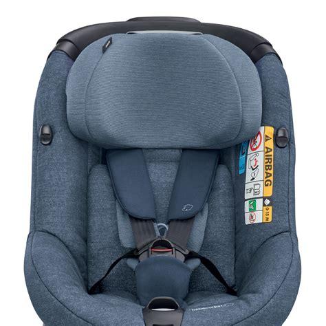 reglementation siege auto b饕 siège auto axissfix i size nomad blue groupe 1 de bebe confort sur allobébé
