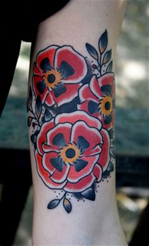 mike chambers poppy tattoo design  tattoosdesign