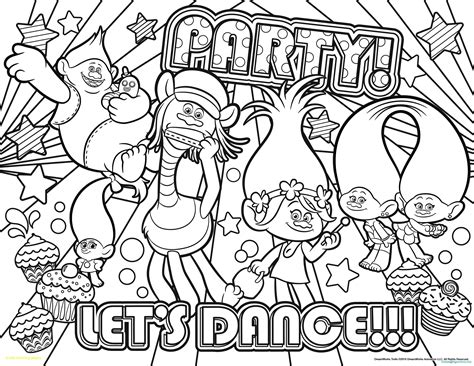 trolls coloring pages  dreamworks   trolls