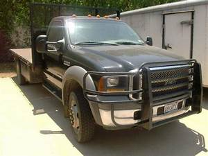 Buy Used Black 2005 Ford F450 Xl Super Duty Flatbed In