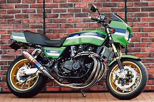 Racing Caf U00e8  Kawasaki Z 1000r No 011 By Bull Dock