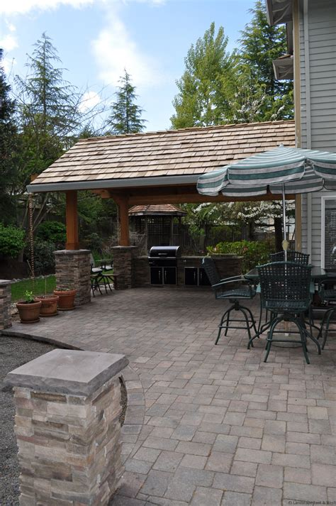 outdoor kitchen designs for portland oregon landscaping