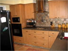 kitchen kitchen backsplash ideas with dark oak cabinets cottage kitchen victorian medium paint