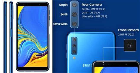 samsung galaxy a7 2018 a750f 4 64 triple cameras phone