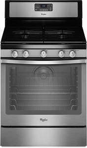 Whirlpool Wfg540h0as 30 Inch Freestanding Gas Range With 4 Sealed Burners  5 8 Cu  Ft  Aqualift