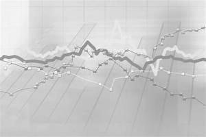 Stock Charts Computer Diagram Stock Illustration