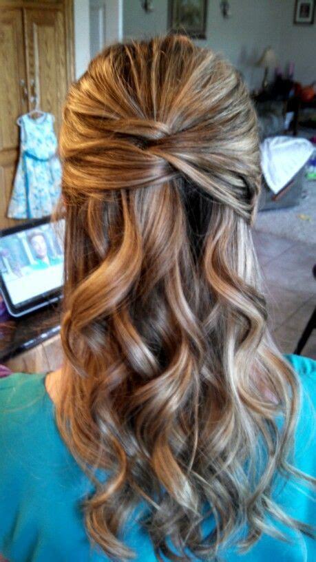 hair  wedding  kids   bridesmaid hair