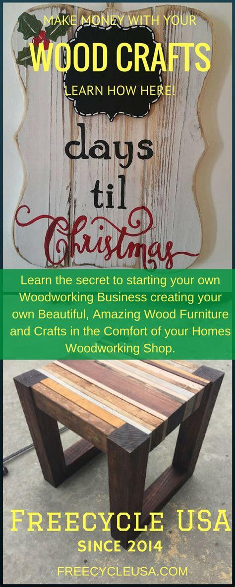 easy money   wood crafts freecycle usa