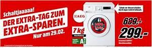 Media Markt Angebote Waschmaschine : media markt schaltjahr angebot aeg waschmaschine ~ Frokenaadalensverden.com Haus und Dekorationen