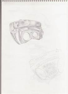 Camera And Boombox Tattoos by por-siempre-nada on DeviantArt