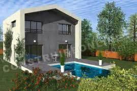 vente de plan de maison contemporaine With plan de maisons gratuit 9 maison plain pied 120m178 maisons ideales
