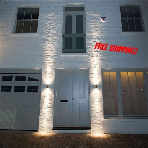 outdoor up down wall light stainless steel gu10 ip65 double wall light zlc03 led lighting in