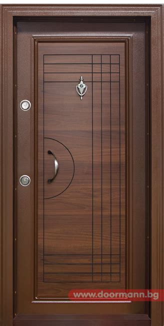 flush interior wood doors style блиндирана входна врата код t305 цвят златен дъб