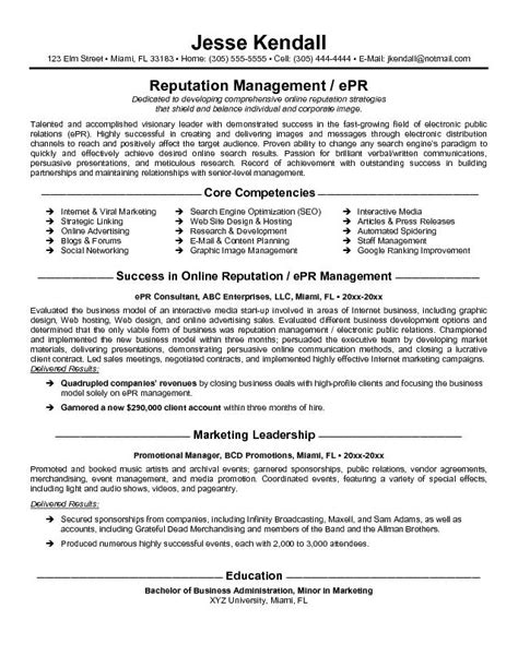 Consulting Firm Resume Exles by Exle Epr Consultant Resume Free Sle