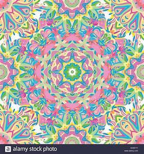 Teppich Auf Englisch : nahtloses vektor hell kunstvolle muster mit mandalas ~ Watch28wear.com Haus und Dekorationen