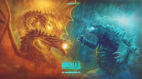 Godzilla 2 King Of The Monsters April