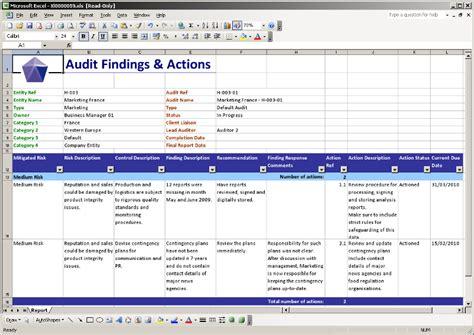 audit follow up template paws pentana audit work system
