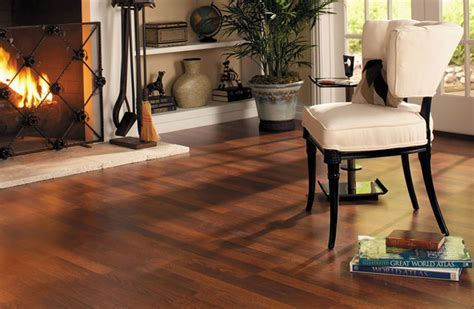 Quick Step Brazilian Cherry Laminate Flooring   Rustic