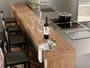 Moderne Küche Mit Kochinsel Holz : bar theke in der k che ideen f r moderne k chenplanung ~ Bigdaddyawards.com Haus und Dekorationen