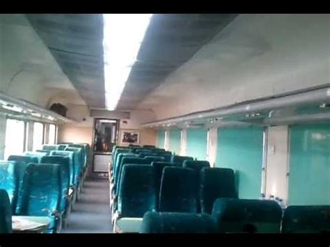 interiors  indias  train shatabdi express youtube