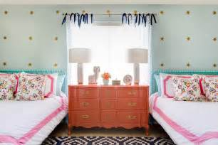 Navy Pink Nursery by Spring Inspired Shared Girls Room Project Nursery