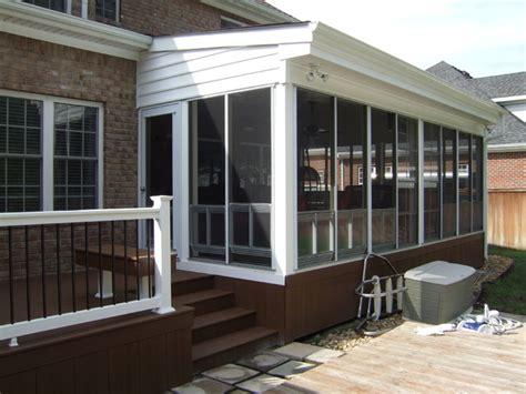 ez screen porch new ez screen porch trex decking contemporary