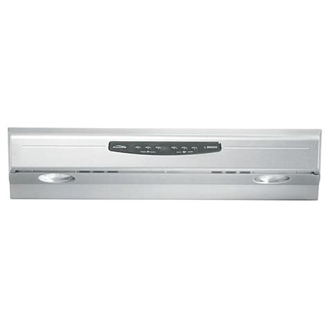 Broan Cabinet Range Manual by Range Hoods Qs2 Series Cabinet Mount Range
