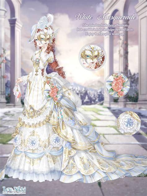 white masquerade love nikki dress  queen wiki fandom