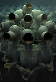 Dark Surreal Horror Art