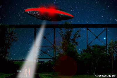 ufo emits beam couple experiences missing time redux