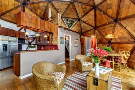 couple spent  years handcrafting  dream geodesic