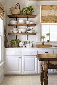 25 best ideas about open kitchen shelving on pinterest With kitchen cabinets lowes with french cafe wall art