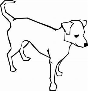 Dog Simple Drawing Clip Art at Clker.com - vector clip art ...