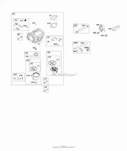 Briggs And Stratton Fuel Pump Hose Diagram