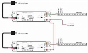 4 Channels Constant Voltage 100w Knx Led Dimming Actuator