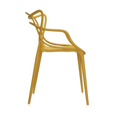 buy kartell masters chair mustard amara
