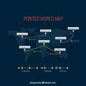 Dotted World Map Vectors, Photos and PSD files | Free Download