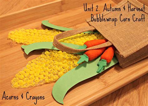 bubblewrap corn craft acorns amp crayons 620 | img 1452edit