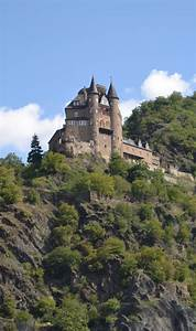 A castle on the Rhine River, Germany. | Magical spaces ...