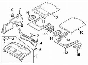 Mazda 6 Sub  Trunk  Trunk Room  Floor Cover  Support  All
