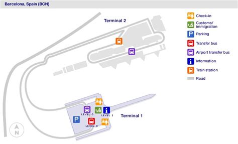Barcelona Airport(BCN) Transfers, Terminal Maps for Shops ...