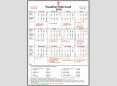 Rajasthan High Court Holiday List 2016 India Customer Care