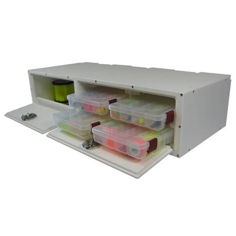 Boat Tackle Storage Hatches by Teak Isle Tackle Storage Center With 4 Plano Trays